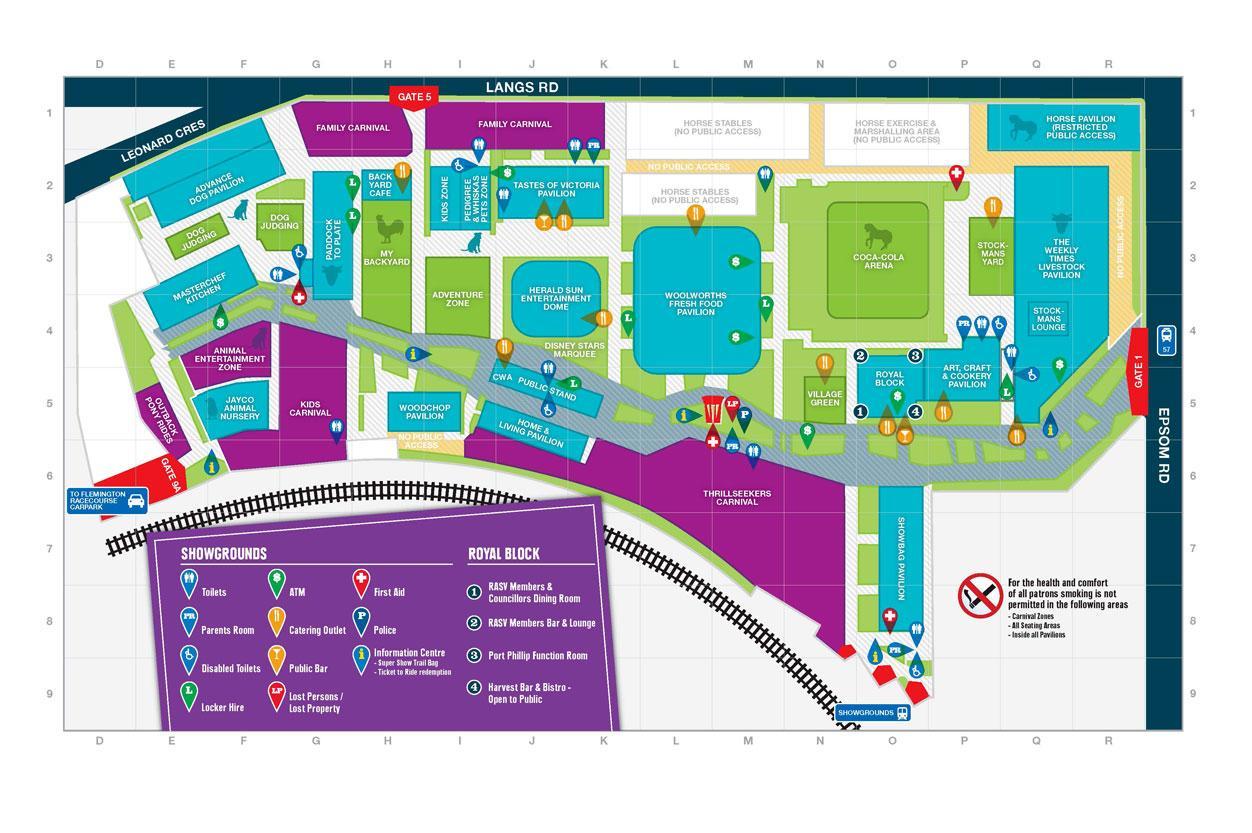 melbourne showgrounds map map of melbourne showgrounds. Black Bedroom Furniture Sets. Home Design Ideas